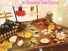 Fairy Garden Kit Fairy Door / house Accessory Washing Line Stepping Stones