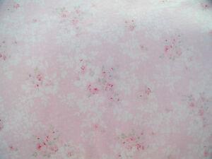 Rachel-Ashwell-Shabby-Chic-Princess-Pink-Cotton-Jersey-Fabric-RARE