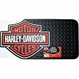 Harley Davidson Utility Rubber Mat - Plasticolor 0002225