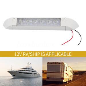 White-12V-LED-Awning-Entry-Light-Bar-Strip-Lamp-Caravan-Boat-Marine-Motorhome