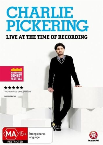 1 of 1 - Charlie Pickering - Live At The Time Of Recording (DVD) Stand Up Comedy- New!