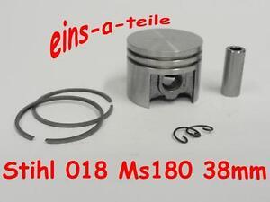 Calidad superior del pistón nuevo adecuado para Stihl ms181 MS 181 38mm 10mm pernos