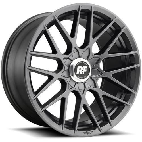 "Rotiform R141 RSE 19x8.5 5x112//5x4.5/"" 35mm Gunmetal Wheel Rim 19/"" Inch"