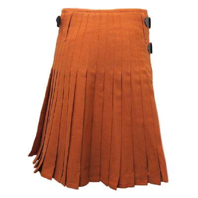 8 Yd (ca. 7.32 M) Scottish Highland Uomo Tradizionali Per Kilt In Cucita Pieghe Top Quality- Impermeabile, Resistente Agli Urti E Antimagnetico