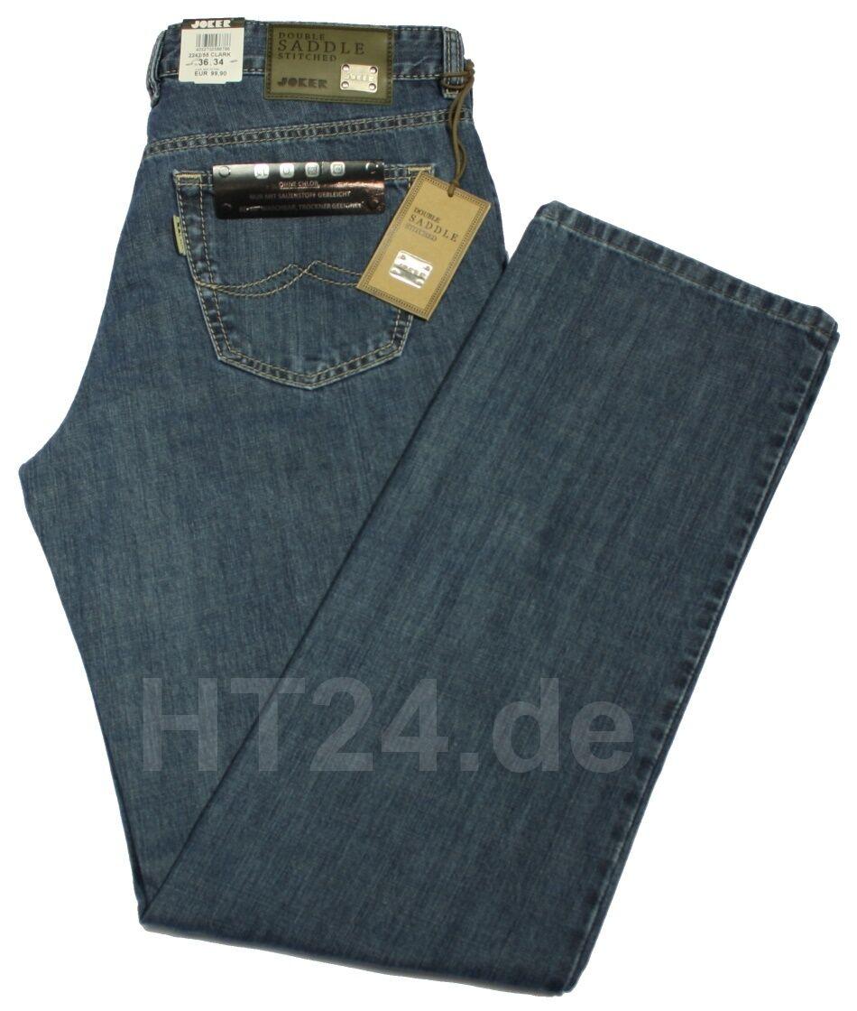 JOKER JEANS CLARK 2242-55 dark stoned von  W31 bis W35 | Online Shop  | Niedriger Preis und gute Qualität