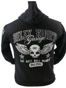 Ball Rock Billy billy Hate Eight a Mens Usa Biker Hoodie xOY5qd5w