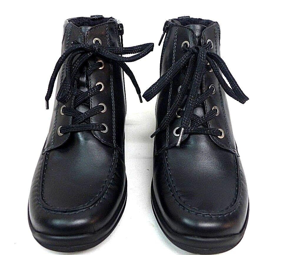 Rôdeur Bottines Noir 3,5 3,5 3,5 - 6,5 Cuir Largeur H en vrac de dépôt facile 3128 81704d