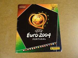 FOOTBALL-PANINI-ALBUM-COMPLETE-UEFA-EURO-2004-PORTUGAL