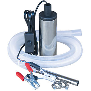 Details about 12V Submersible Diesel and Water Transfer Pump For Farms