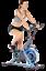 Heimtrainer Schwerlast Fitnessbike mit Handpulsmessung Fitnessgeräte für Zuhause