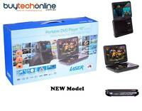 """LASER DVD-PORTABLE-10 Portable DVD Player with Screen 10"""" Blu-ray and DVD Players"""