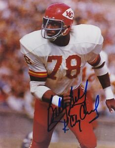 BOBBY-BELL-Autograph-HOF-NFL-8x10-photo-authentic-Kansas-City-Chiefs-w-COA