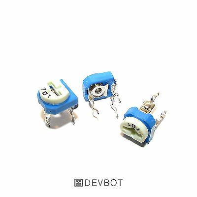 Potentiomètre 100 Ohm 0.1W (101). Trim Pot. Arduino, DIY, Pi. Lot: 5 ou 10