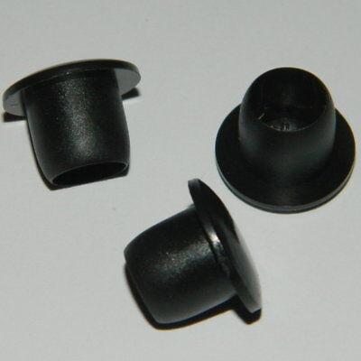 Erfinderisch 10 Stk. Abdeckstopfen Für Bohrung Ø 27,2mm Schwarz Blindstopfen Kunststoff Ausgezeichnet Im Kisseneffekt