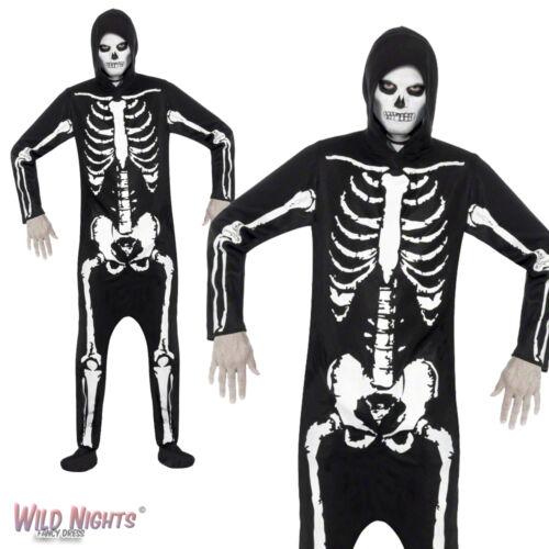 Halloween Fancy Dress # Adult Skeleton One Piece Costume