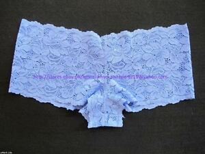 70-off-AUTH-ViCToRia-039-s-SeCReT-ALLOVER-BLUE-LACE-BOYSHORT-PANTY-XSMALL-10-5