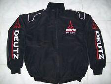 NEU DEUTZ F1 L612 Traktor Fan- Jacke schwarz jacket veste jas giacca jakka