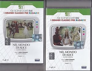 Dvd-Sceneggiati-Rai-NEL-MONDO-DI-ALICE-completo-nuovo-1974