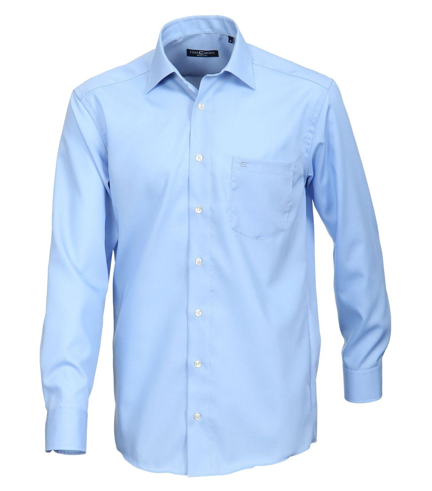 Casa Moda Pure baumwolle Kent halsband Long Sleeved Business hemds, Größe 18 to 22