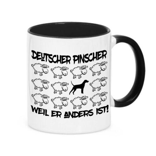 Tasse Black Sheep-Allemand chienne chien mouton kaffebecher siviwonder