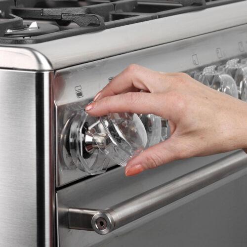 CLIPPASAFE Four /& Cuisinière bouton gardes X4-Entrepôt de dégagement