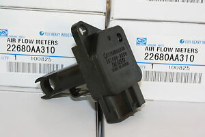GENUINE-Impreza-Forester-Liberty-wrx-gt-sti-MAF-air-flow-meter-afm-22680AA310