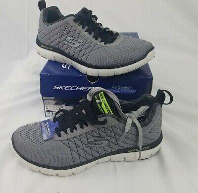 Partido Mona Lisa hidrógeno  52185 Skechers Sport Men's Size 8 Flex Advantage 2.0 The Happs Light  Gray/Black | eBay