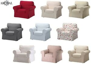 Image Is Loading IKEA EKTORP Cover Single Seat Sofa In Various