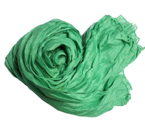 Women Winter Autumn Cotton Crinkle Long Soft Scarves Bufandas Hijab Shawl Cape