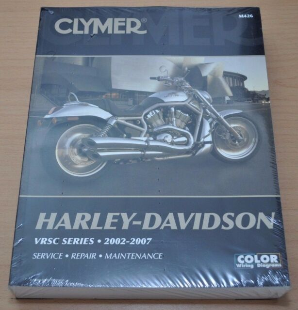 Harley Davidson VRSC Series 2002-2007 Service Manual Reparaturanleitung Clymer