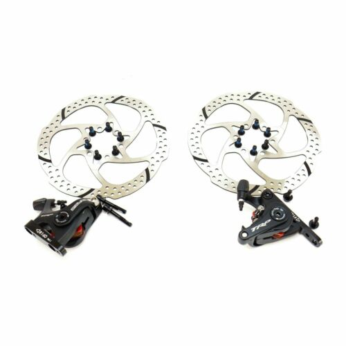 TRP SPYRE-C Alloy Flat Mount Disc Brake Caliper with160mm Rotor Front //Rear //Set