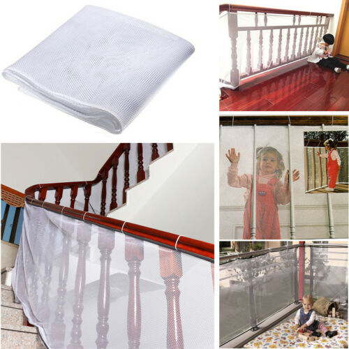 FT Baby Children Safety Thicken Fence Net Balcony Stairs Railing Protector Reli