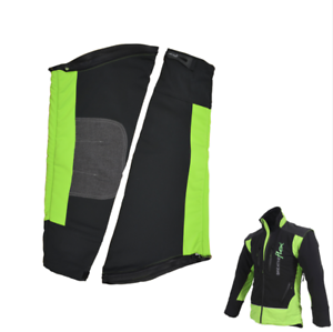 Arbortec Breatheflex Zip-Off Chainsaw Sleeves Lime//Black for Breatheflex Jackets