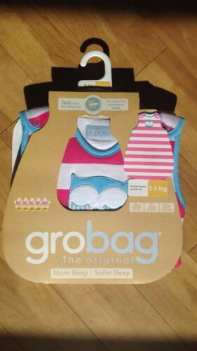 Grobag Baby Sleeping Bag 0-6  Months 2.5 tog exclusive designs