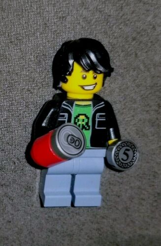 LEGO 71235 Dimensions Gamer Kid Minifigure with Can and Coin Rare New Authentic