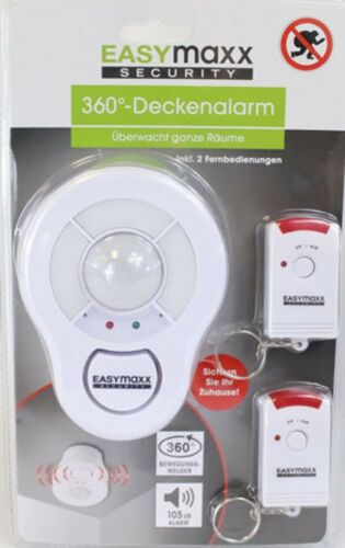 105db sans fil Easymaxx Security plafond alarme alarme télécommandes