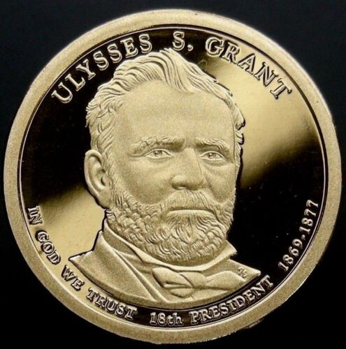 "2011 S Presidential Dollar Ulysses S Grant lrr GDC Proof /""50 Cents Shipping/"""