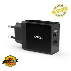 Anker-24W-2-Port-USB-LadegeraeT-Mit-PowerIQ-IPhone-IPad-Samsung-Galaxy-ETC