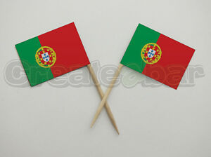 72-Portuguese-Flag-Picks-Buffet-Sandwich-Cupcake-Toppers-Portugal-Flags