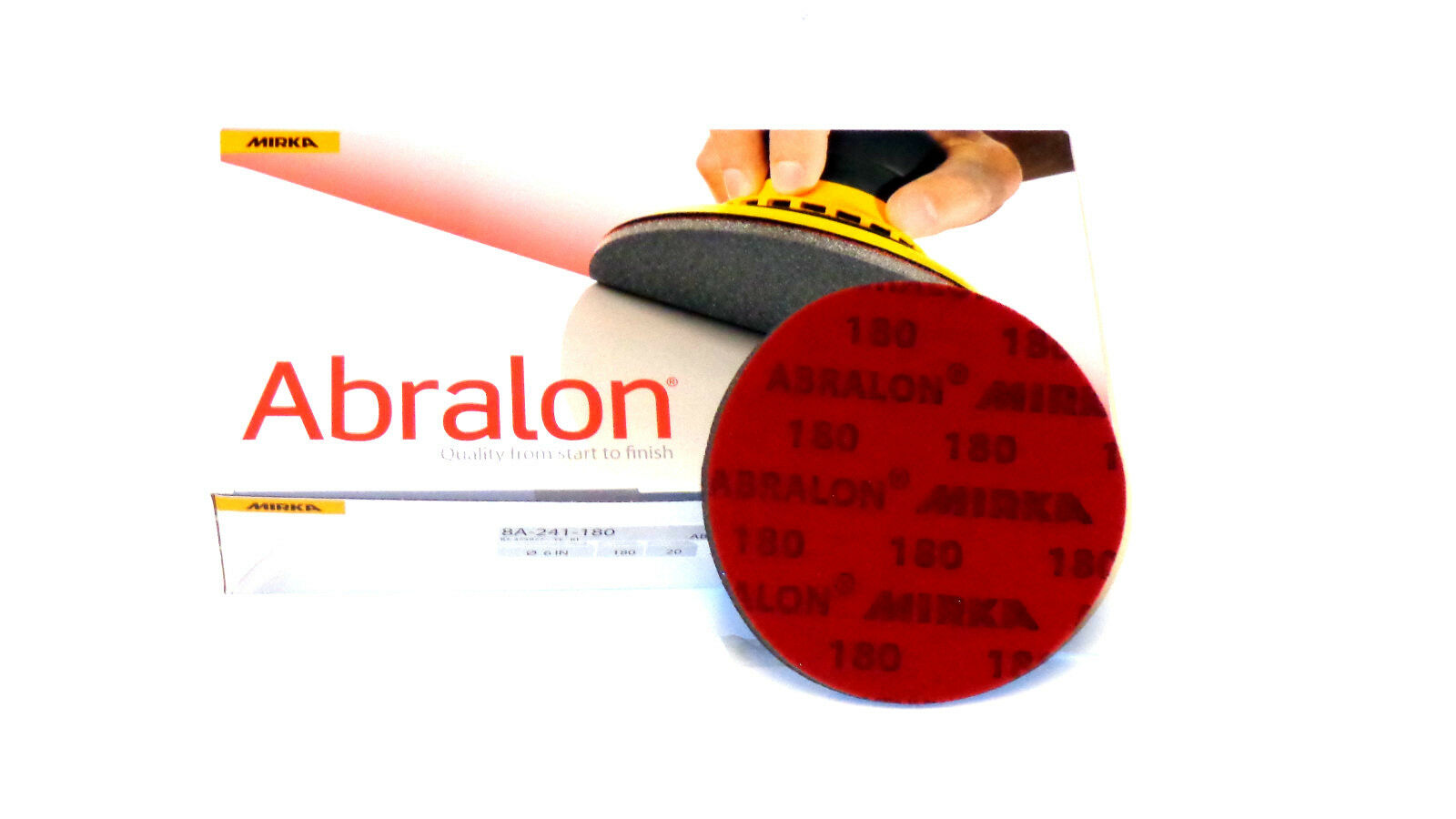 BOWLING ACCESSORIES 20  6   ABRALON PADS NEW 4000 GRIT - AUTHENTIC PADS BY MIRKA