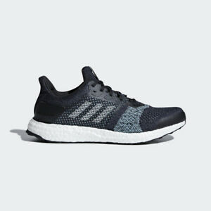 Details about Adidas ULTRABOOST ST PARLEY AC7586 Legend ink Mint Aqua Men's Running Shoes