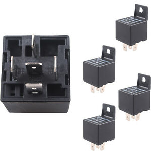 Superb Terminals Wiring 10 X Car Truck Motor Automotive Dc 12V 40A 40 Amp Wiring Cloud Tobiqorsaluggs Outletorg