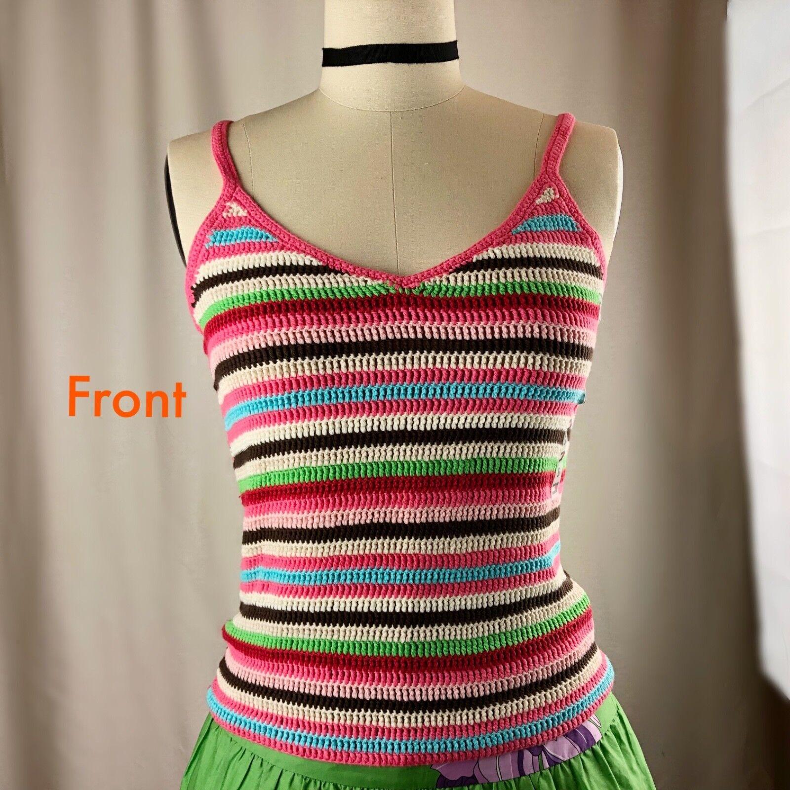 Tommy Hilfiger Henley Women Tank  Cami Top Shirt 2 pcs Small Medium Large Gift