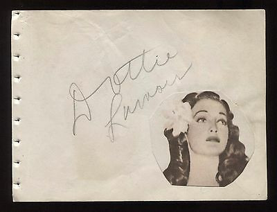 Cards & Papers Reasonable Dorothy Lamour And Georgie Jessel Signed Vintage Album Page Autographed Entertainment Memorabilia