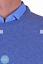 Maglia-Uomo-Basic-Pullover-Girocollo-Maglione-Regular-Fit-misto-lana-cachemire miniature 5