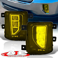 Yellow Led Driving Fog Lamp Light Switch For 2016 2018 Chevy Silverado 1500
