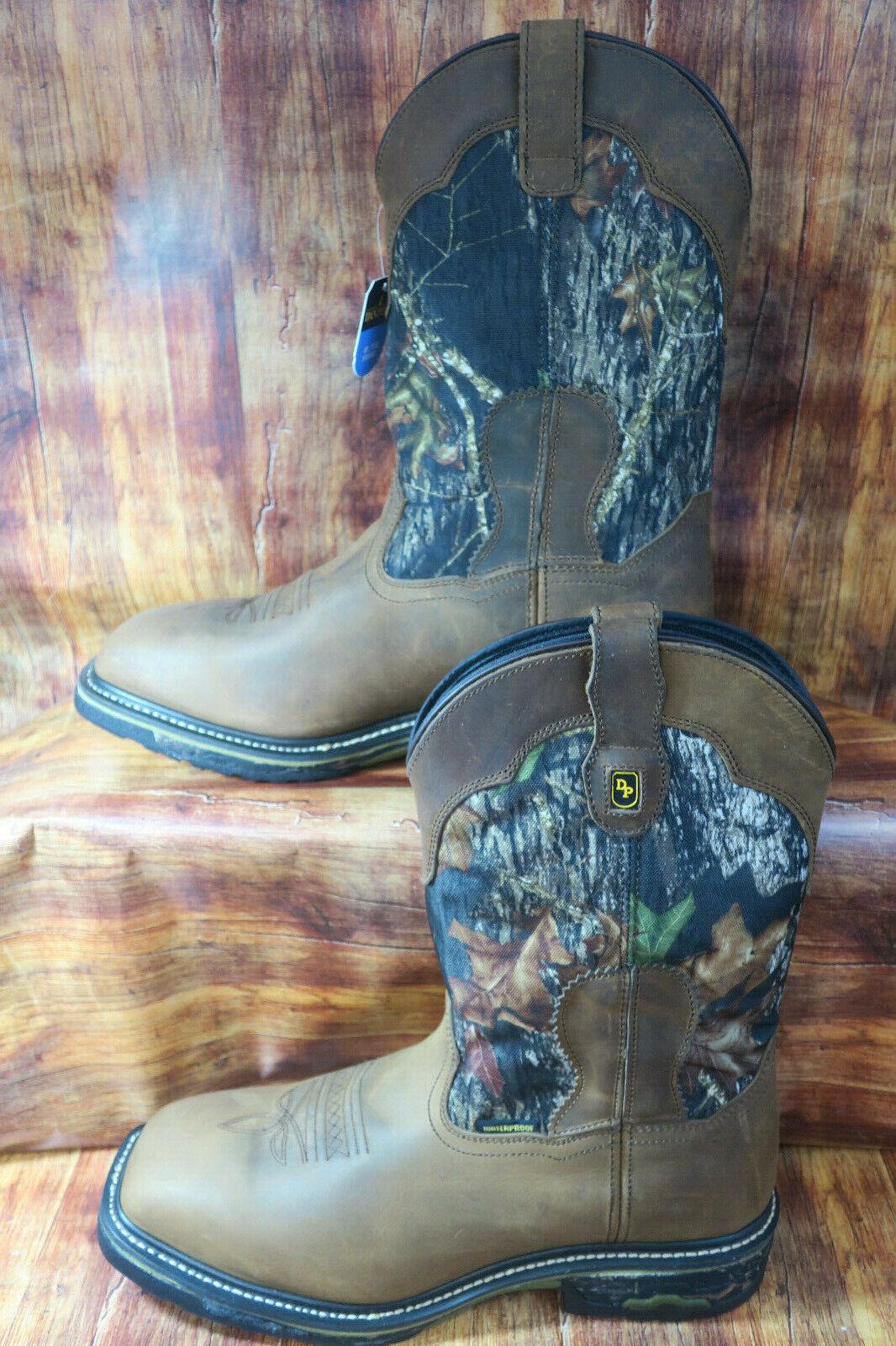 Dan Post Hunter 69408 Waterproof Camo Work Boot  DP69408 NEW  1242 Size 13