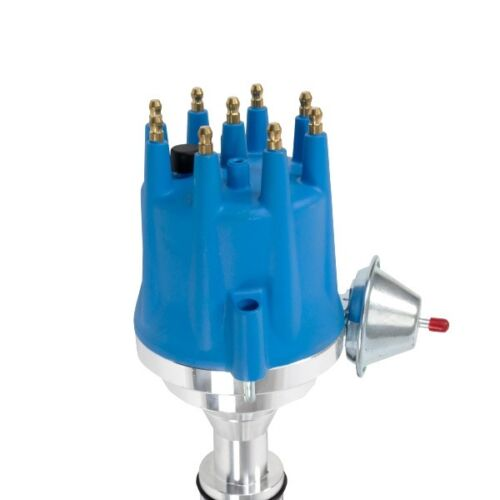 Lipstick Performance 8595 Ready to Run Pro-Billet Distributor Ford FE V8/'s Blue