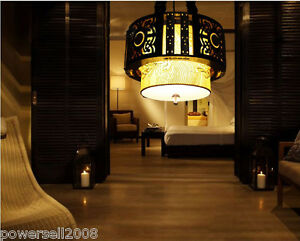 Chinese-Style-E27-Diameter-45CM-Wood-Embroidery-Decoration-Droplight-Chandelier