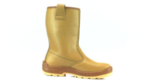 scarpe sportive 5d617 48949 Jallatte J0266 Pelle Stivali Ferro Chiaro In Stile Jalaska ...